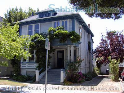 Beautiful Victorian duplex walking distance to UC Berkeley! Home Rental in Berkeley, California, United States 0